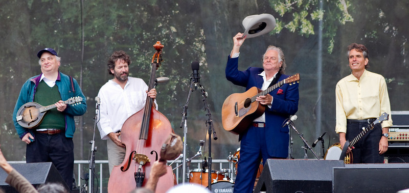 Peter Rowan and his Bluegrass Band at Hardly Strictly Bluegrass Festival in Golden Gate Park, SF