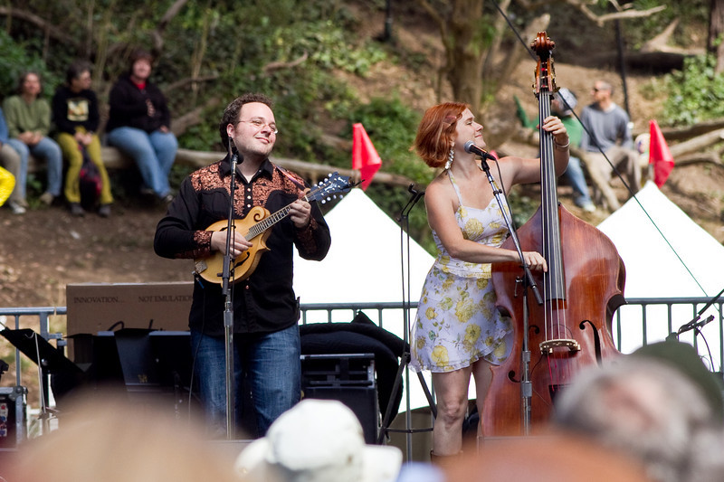 Coyote Grace playing with the Indigo Girls at Hardly Strictly Bluegrass Festival in Golden Gate Park, SF