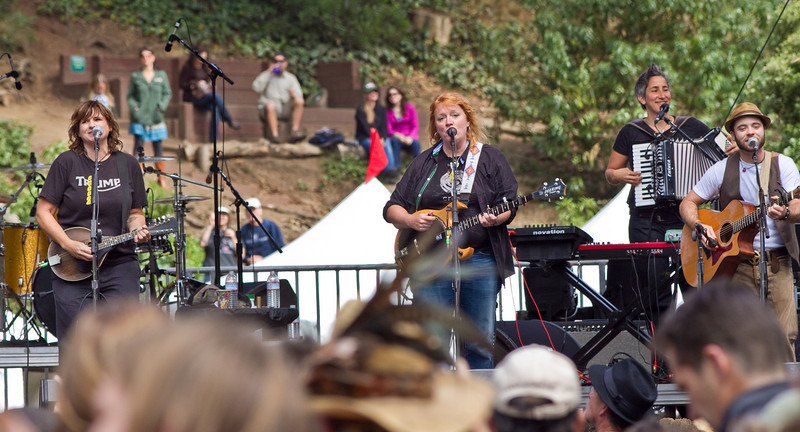Indigo Girls at Hardly Strictly Bluegrass Festival in Golden Gate Park, SF