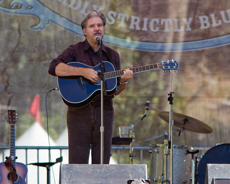 Lloyd Cole at Hardly Strictly Bluegrass Festival, 2012.