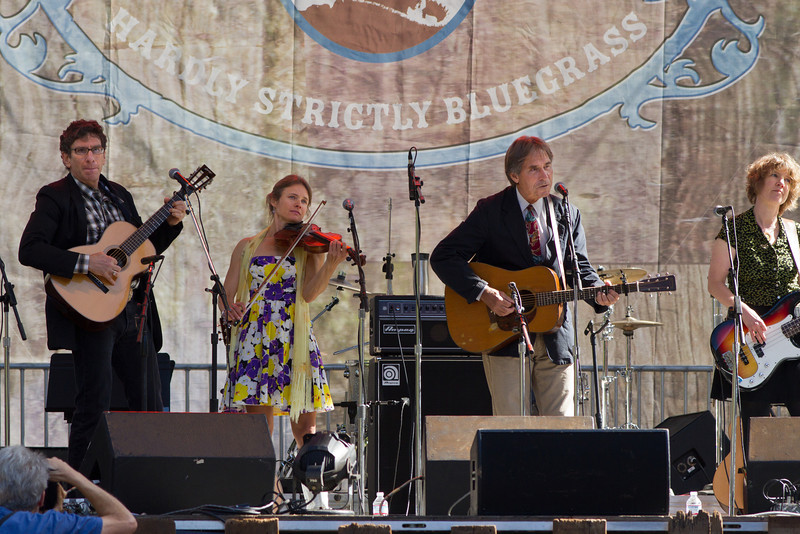 The Wronglers and Ron Tomason at Hardly Strictly Bluegrass Festival, 2012.