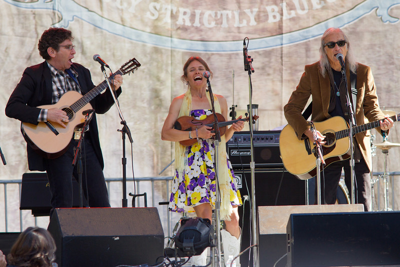 The Wronglers and Jimmy Dale Gilmour at Hardly Strictly Bluegrass Festival, 2012.