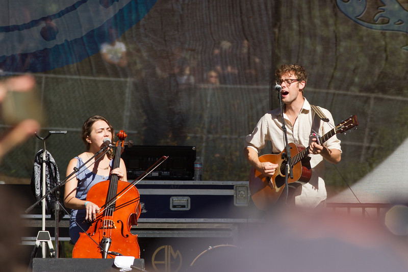 The Lumineers at Hardly Strictly Bluegrass Festival, 2012.