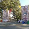 Entrance to Hardly Strictly Bluegrass Festival at Golden Gate Park, 2012.