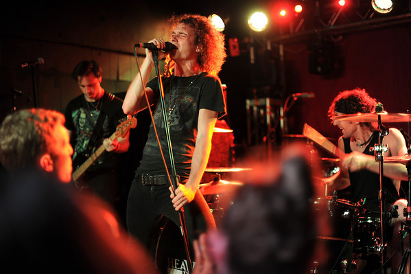 Heaven's Basement, a band from England, put on a great show at Jack Rabbits, Jacksonville, Florida, last night.