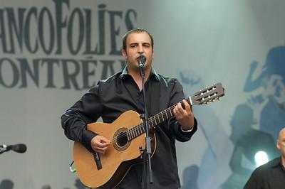 Hugo Lapointe Francofolies de Montreal, 12 juin 2011