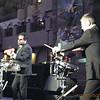 Andrew & Tim during Drum Opera