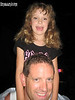 Skye on dad's (Lee) shoulders.