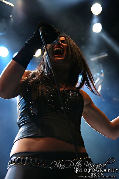 Tristania at the Inferno Festival, Oslo, 2008
