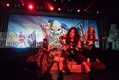 Iron Maiden performs at The Forum in Inglewood, CA on Friday, April 15, 2016 (Photo by Joe Lester)