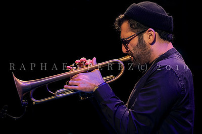 Trumpeter Itamar Borochov quartet show at Studio Ermitage, Paris. September 2019