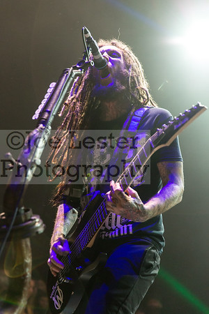 Korn performs at The Forum in Inglewood, CA