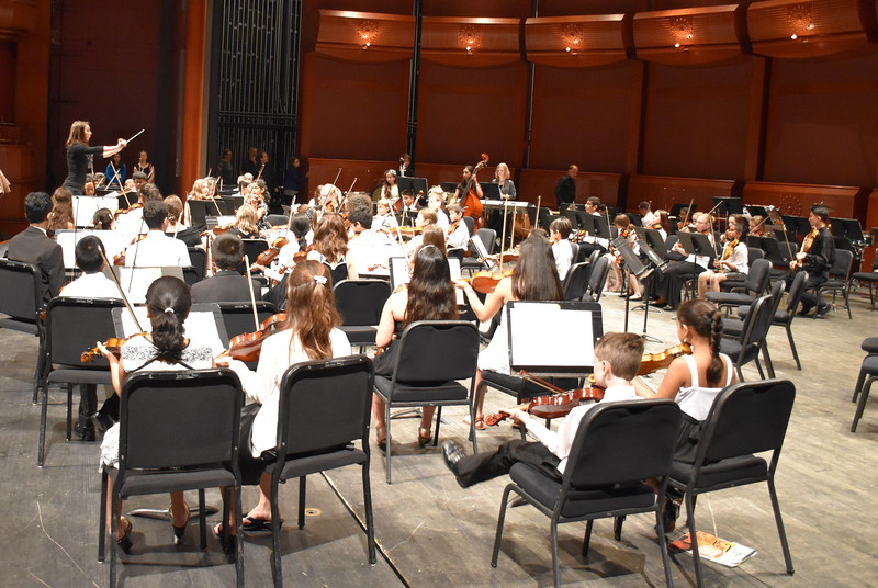 Lakeland Strings and Youth Ensemble Soundcheck
