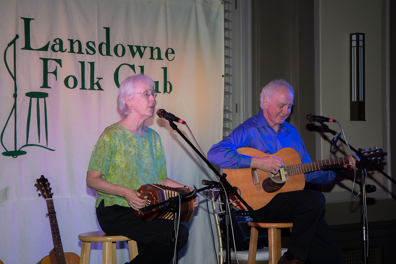 Steve Gillette & Cindy Mangsen at the Lansdowne Folk Club