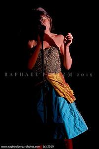 Laurie Darmon showcase at Bus Palladium, Paris. February 2019