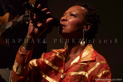 Lisa Simone at Blues sur Seine Festival, 2018