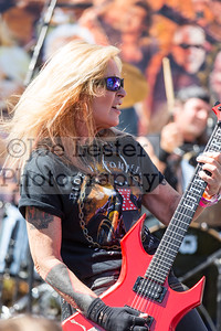 Lita Ford performs at the 2nd Annual Ride For Ronnie Event on Sunday, May 22, 2016 (photo by Joe Lester)