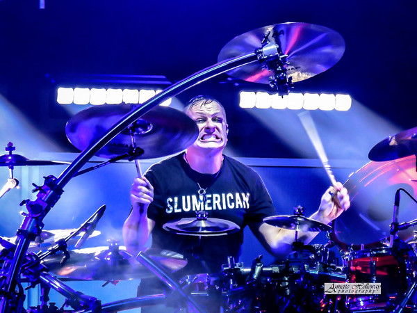 Ray Luzier - Korn on Serenity of Summer Tour at the PNC Bank Arts Center in Holmdel NJ