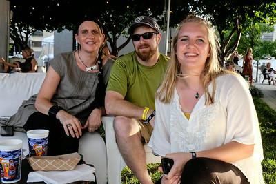 Liz, Micha, and Ati, Behan