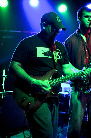 Lucky Costello and friends put on a great show at 1904 in downtown Jacksonville, Florida.