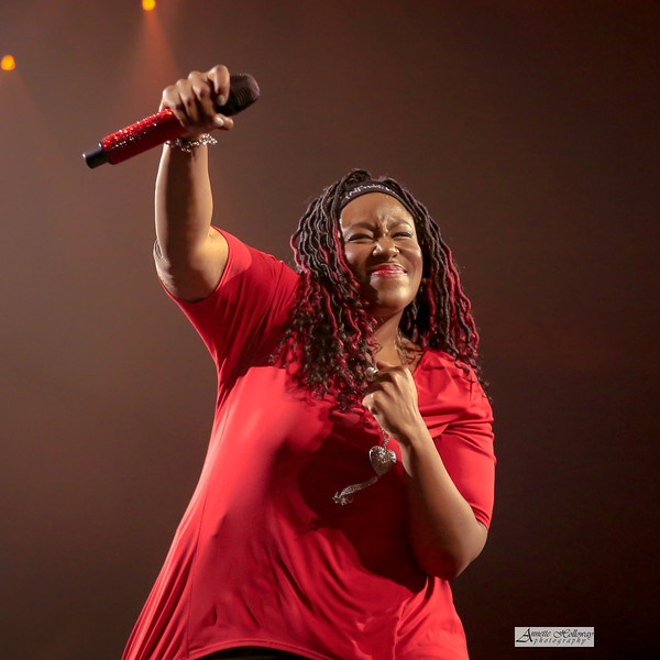 Mandisa in concert at Winter Jam in Norfolk, VA 2-24-19 by Annette Holloway Photography