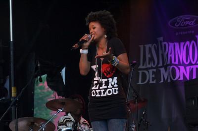 Marième, Francofolies de Montreal, 12 juin 2011