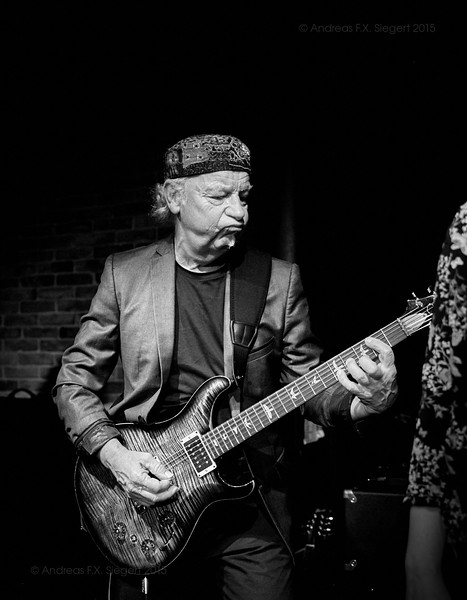 Martin Barre at Bayerischer Hof November 2015