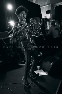 During Enghien Jazz Festival 2019, a show given in the city club with French singer Maysha and band just after the Kool and the Gang concert. Joined with Kool and the Gang sax player Steven Carrington