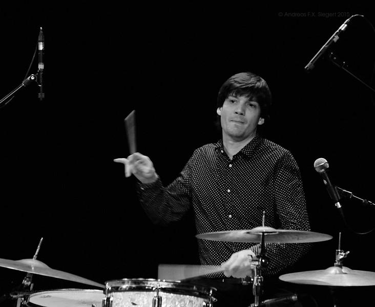 Nick Woodland at Ampere January 2016