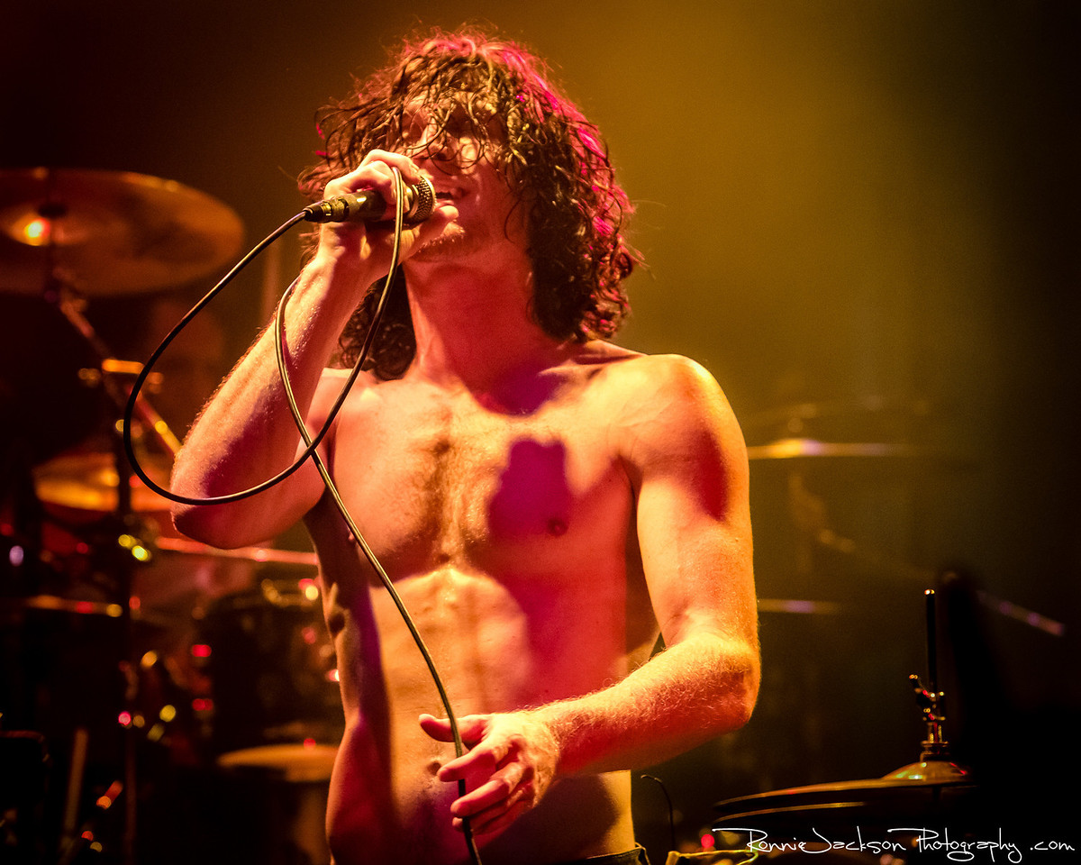 Jonny Hawkins of Nothing More performing at Trees Dallas.  6-22-2013 © 2013 Ronnie Jackson Photography
