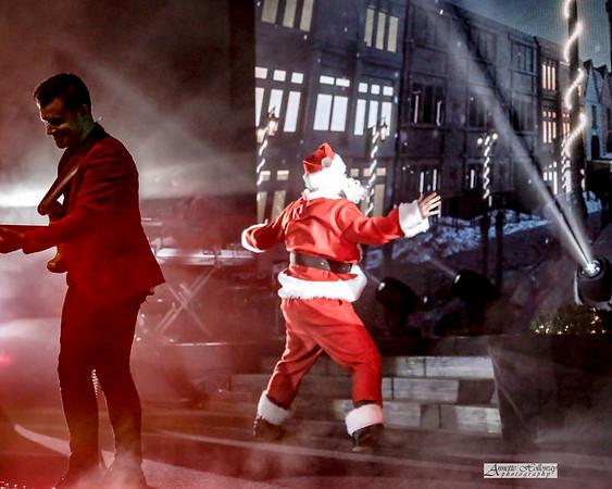 Marc Martel as Santa - KLove Christmas Tour VA 12-15-17 by Annette Holloway Photog