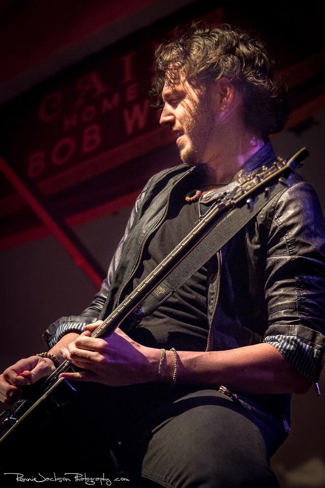 Nick Fuelling of Pop Evil performing at Cancer Sucks! Handlebars and Hotrods Benefit Concert<br /> <br /> Cain's Ballroom in Tulsa Ok.<br />  5/11/2013