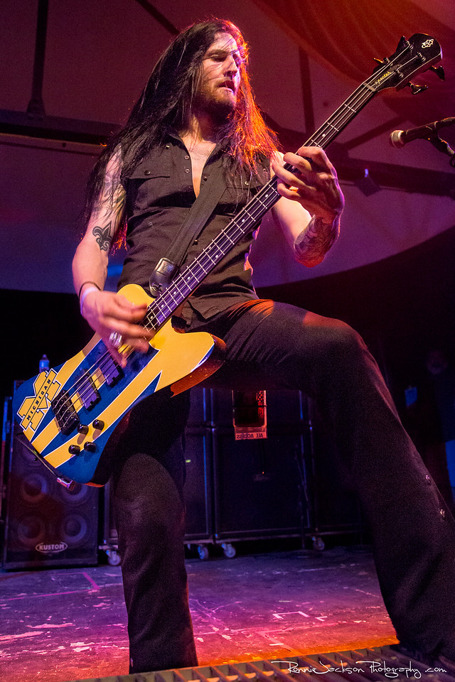 Matt DiRito of Pop Evil performing at Cancer Sucks! Handlebars and Hotrods Benefit Concert<br /> <br /> Cain's Ballroom in Tulsa Ok.<br />  5/11/2013