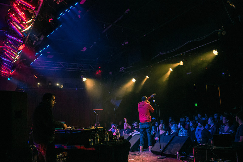 RA Scion - The Sickle & the Sword - album release party at Neumo's
