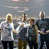 Current FM & Super Fans at Winter Jam Norfolk VA 2-23-17