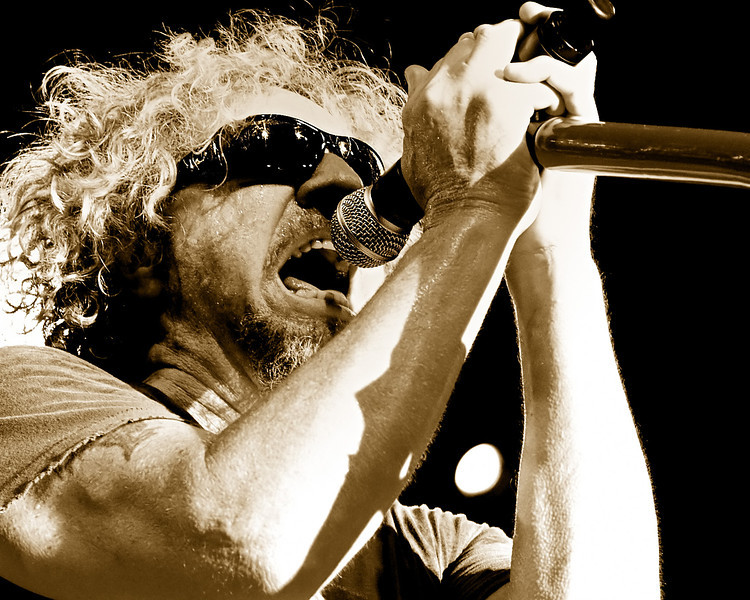 Chickenfoot performing at Concrete Street in Corpus Christi, TX in September 2009.