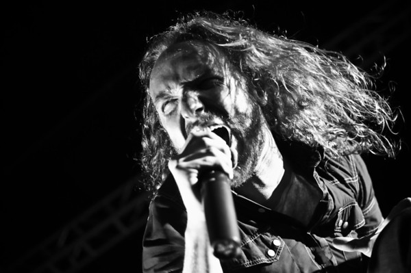 Dark Tranquillity performing at Concrete Street in Corpus Christi, TX on Feb 20, 2010