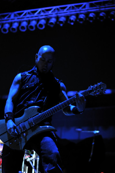 Drowning Pool at Concrete Street Amphitheater in Corpus Christi, TX on May 7, 2009