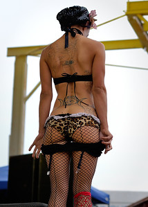 Betty Bloomerz from the Hellzapoppin Sideshow