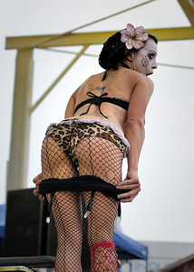 Betty Bloomerz from the Hellzapoppin Sideshow!