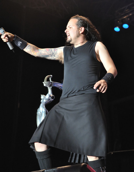 Korn at Concrete Street Amphitheater in Corpus Christi, TX on May 7, 2009