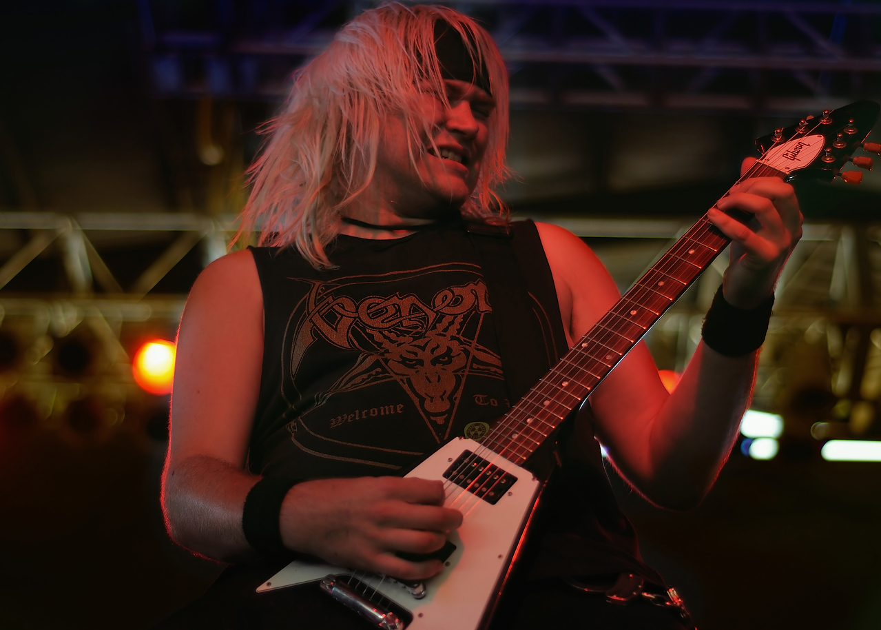 Toxic Holocaust Plats at Concrete Street in Corpus Christi, TX in 2009
