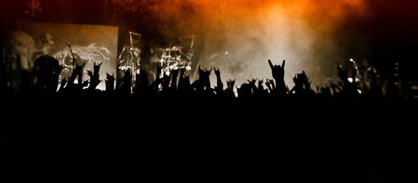 """""""Devil Horns"""" Trivium at Concrete Street in Corpus Christi, TX"""