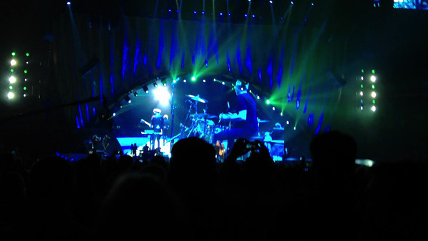 """Play LOUDLY (volume set to max) Video: """"Gimmie Shelter(part I)"""" by The Rolling Stones   50th anniversary show NJ 2012  Music © by The Rolling Stones mobile video © by Jorge Nario"""
