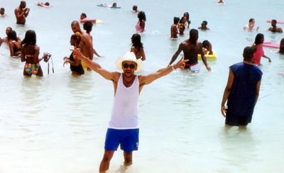 1997 Funk Festival in Aruba, host SINBAD.
