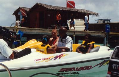 1997 Funk Festival in Aruba, host SINBAD. Yo, SINBAD can I get  a hookup home town?