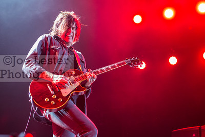 Stone Temple Pilots with Chester Bennington perform at the X103.9 FM Merry Meltdown at Citizen's Bank Arena in Ontario, CA. :Pictured Dean DeLeo (Photo by: Joe Lester / JoeLesterPhotos.com)