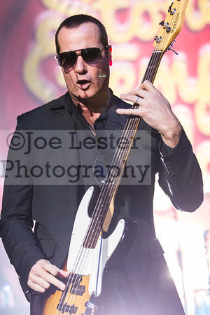 Stone Temple Pilots with Chester Bennington perform at the X103.9 FM Merry Meltdown at Citizen's Bank Arena in Ontario, CA. :Pictured Robert DeLeo (Photo by: Joe Lester/JoeLesterPhotos.com)