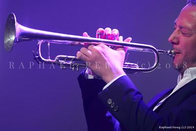 Sarah Lenka Blues sur Seine Festival 2018 Trumpet, Quentin Ghomari