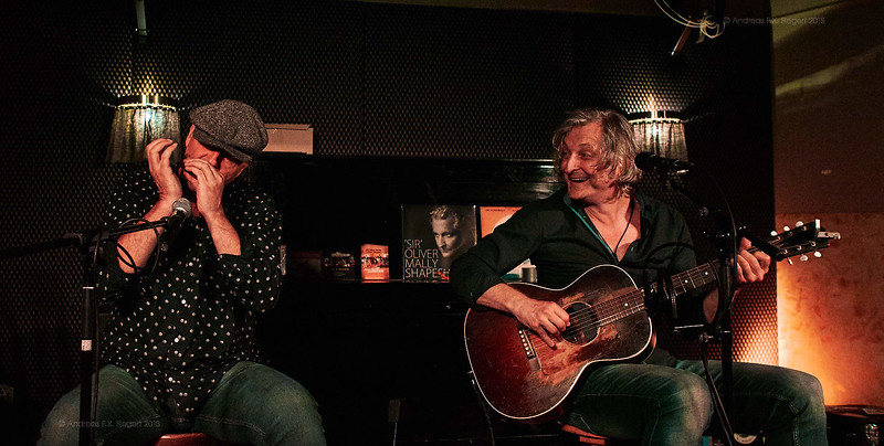 Peter Schneider & 'Sir' Oliver Mally @ Bar Gabanyi